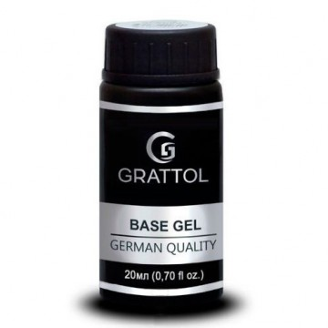 Grattol Rubber Base Gel Royal New Formula  (20ml)