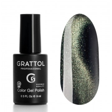 Grattol Color Gel Polish 9D Cat Eye 01