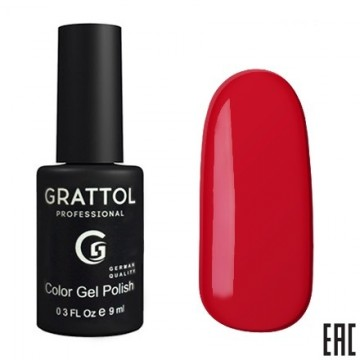 Grattol Color Gel Polish Cherry Red
